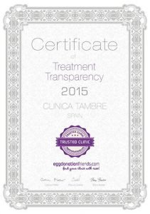EDW Certificate CLINICA TAMBRE 2015