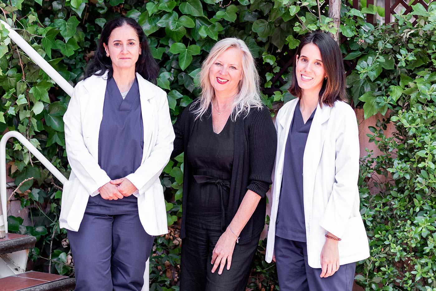 Susana Cortés, Diane Tober & Andrea Rodrigo