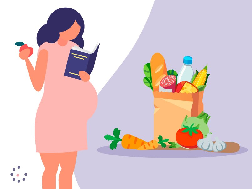 Foods during pregnancy Tambre